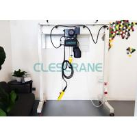 Buy cheap 2t CE Certification Lightweight Mobile Gantry Crane with electric chain hoist product
