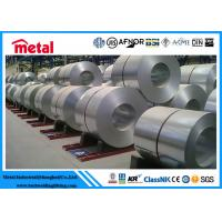 Buy cheap Thickness 4 - 5 Mm Steel Electrogalvanized Cold Rolled Coil , Silver 304 Stainless Steel Plate product