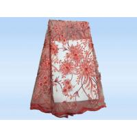 Nigeria Lace Tulle Based Embroidery Sequin Lace Apparel Fabric colorful swiss voile lace