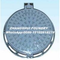 Buy cheap Ductile iron manhole cover cast iton square and round EN124 manhole cover and from wholesalers