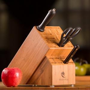 China professional manufacturer of knife block set block knife set for high quality on sale