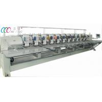 Buy cheap Industrial Computerised Multi Needle Double Sequin Embroidery Machine For Fabric product