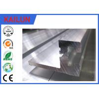 Buy cheap Silver anodized T Slot Custom Aluminum Extrusions With 6005 / 6063 / 6061 Material product