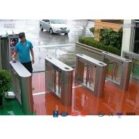 Card Read Swing Arm Barriers Security Pedestrian Control System