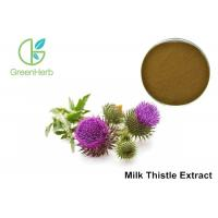 Buy cheap Milk Thistle Natural Plant Extracts 80% Silymarin For Liver Protecting product