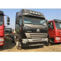 Buy cheap HOWO A7 Prime Mover Truck ZF8118 LHD Steering 420HP 50 Ton Load Capacity product