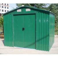 Buy cheap 6x4 Galvanized Steel Sheet Apex Steel Garden Sheds With Sliding Door For Easy Install product