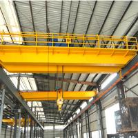Buy cheap Steel coil lifting double girder overhead crane for sale product