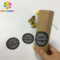 China Water Proof Food Packaging Films Custom Security Clothing Label Vinyl Sticker on sale