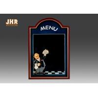 Buy cheap Black Wooden Wall Mounted Chalkboards Framed Menu Board For Restaurant product