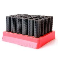 Buy cheap Red Color Diamond Abrasive Brush Wear Resistance , High Efficiency Nylon Filament Brush product