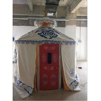 Windproof Luxury Mongolian Yurt With Insulation Blanket Inside Decorative