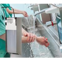 Buy cheap Healthcare Surgical Elbow Operational Euro Bottle Hand Disinfectant Dispenser in 304 Stainless Steel product