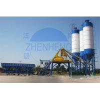 Buy cheap HZS50 Stable Performance Stationary Concrete Batching Plant For Engineering Construction product