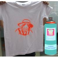 Buy cheap Silver OutdoorFast Drying  Fabric Spray Paint  Male Valve 200Ml / Can product