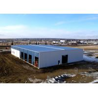 China Painting Steel Warehouse Buildings / Wind Resistant Steel Frame Warehouse Construction on sale