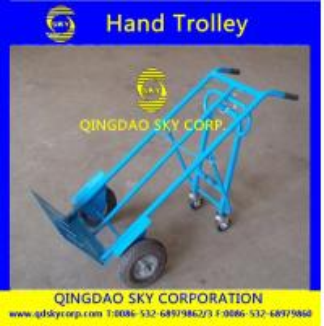China heavy duty hand trolley on sale