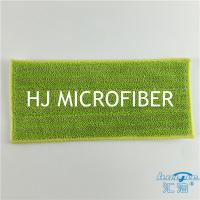 Buy cheap Green Color Microfiber Bath Refill Mop Pads Twist Pile Cloth Floor Cleaning Mop Heads product