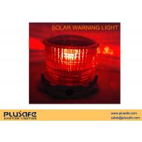 Buy cheap SL10 Battery Operated Solar Obstruction Light Steady Burning Color For Aviation product