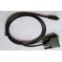 Buy cheap Automotive Stereo DVI Video Cable Digital HDMI Micro Cable With UL Approved product