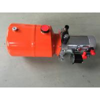 Buy cheap Orange 6L Steel Tank DC Compact Hydraulic Power Unit for Dump Trailer from wholesalers