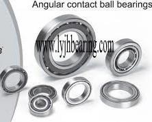 Buy cheap XCB71900-C-T-P4S FAG main spindle bearing 10X22x6 mm, GCr15 Chrome steel product