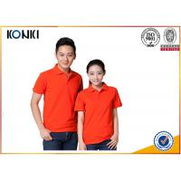 Buy cheap Cotton / Polyester Golf Polo Shirt Knitted Mens Custom Printed Polo Shirts product