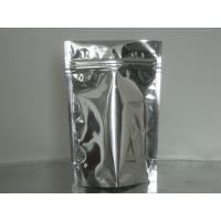Buy cheap Custom Stand Up Metalized Foil Stand Up Pouches With Press / Slider Zipper product