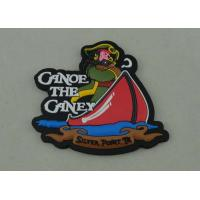China Canoe the Caney Promotional PVC Keychain 3D Design Soft PVC Injection on sale