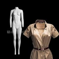 Buy cheap Female fiberglass ghost mannequin for display in clothes product