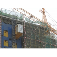 Buy cheap Lifting 60 M / Min FC Control Construction Hoist Elevator product
