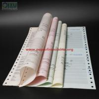Buy cheap Custom carbonless paper printed business computer continuous forms product