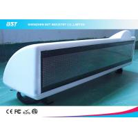 Buy cheap P6 Single Color Moving Scrolling Led Taxi Display Sign With GSM / GPRS / GPS product