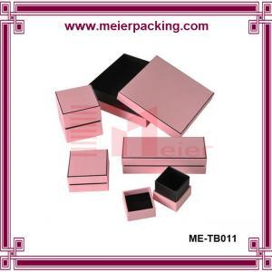 Buy cheap Elegant paper perfume box/Clear pink paper box ME-TB011 product