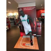 Buy cheap Jolly mannequins-grey matte male sport mannequin/playing basketball mannequin H-6 with head product