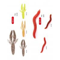 Plastic high quality fishing soft lures worm 106837105 for Fishing worms for sale