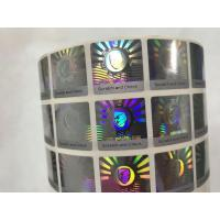 Buy cheap Anti Counterfeit 3D Holographic Stickers , Hologram Seal Stickers With Scratch Off Layer product