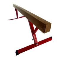 Buy cheap Oval Shape 8 Foot Balance Beam , Comfortable Suede Balance Beam Height Adjustable product