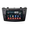 Mazda 3 Android Car Multimedia Navigation System DVD Player Backup Camera Input for sale