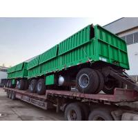 Buy cheap 3 / 2 Axles Semi Trailer Truck 30 - 45 Tons Loading Capacity With 20 Feets Container product
