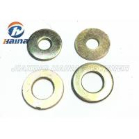 Buy cheap Color Plated Flat Washers Plain Carbon Steel Round Head For Iron Stamping Out product