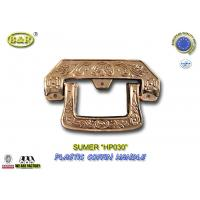 Buy cheap HP030 European style gold Plastic Coffin Handles For Coffin Decoration product