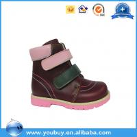 Buy cheap Army Design Child Shoes Male Orthotics,Kids Orthopedic Ankle Boots product