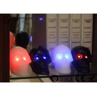 Buy cheap Skull Shaped Safety Halloween Led Candles For Home Decoration 340g product