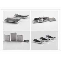 Buy cheap Permanent N35 / N45 Neodymium Segment Magnets With High Strength Custom Size product