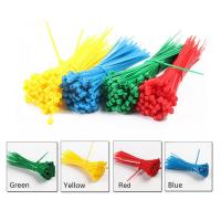 China High Temperature Resistant Nylon 66 Cable Ties , Colorful Selflocking Nylon Tie Wraps on sale