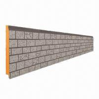 China Metallic Embossing Composite Insulation Panel, Suitable for External Wall Insulation on sale
