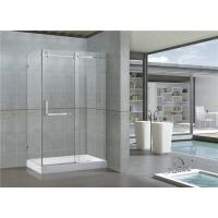 Buy cheap Customized900x1200 Rectangular Shower Cubicles 8MM Glass SGCC Certification from wholesalers