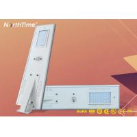 Buy cheap 12V LED Intelligent Solar Street Lights With MPPT Controller & Solar Panel product