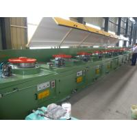 CO2 Gas Shielded Wire Drawing Equipment , Electrical Welding Electrode Making Machine LZ10--560